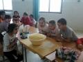 Fánkot készít az 1. c osztály